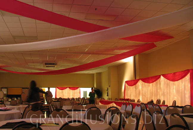 Ceiling Wedding Decorations